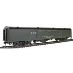 Walthers 72' Pullman-Standard Baggage Car Chicago Great Western HO scale