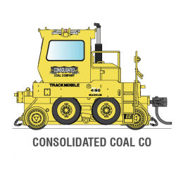 Broadway Limited 6047 Consolidated Coal Co. Trackmobile, DCC Version, HO