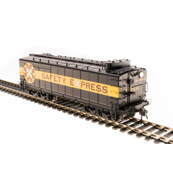 Broadway Limited Imports 4797 C&O Auxiliary Water Tender, Safety Express Paint, 614-A, HO (NP)