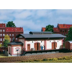 Freight shed HO 11399 Auhagen