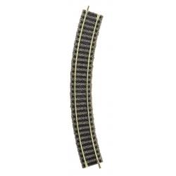 6120 - Fleischmann Curved track R1, 36°, 10 pieces, HO