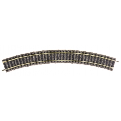 6125 - Fleischmann curved track R2, 36°, 10 pieces, HO