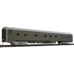 Passenger car - P-S Valley 6-6-4 Sleeper - 85' - San Francisco Chief -HO - WalthersProto 920-9328