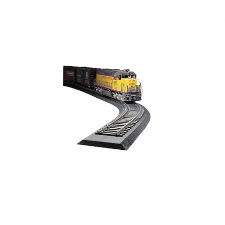 Woodland Scenics ST1461 Track-Bed Roadbed Material 36 pcs - 0,5x4,44x60,9 cm each, HO
