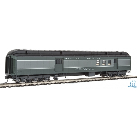 Walthers 920-17406 70' Heavyweight Railway Post Office - Baggage Car - Ready to Run -- New York Central, HO