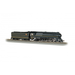 Steam Locomotive HO Streamlined Class K4 4-6-2 Pacific - Sound and DCC - Pennsylvania Railroad 5338 - Bachmann 85304