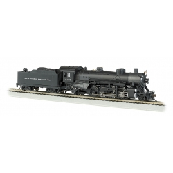 Steam Locomotive HO - USRA Light 2-8-2 Mikado - New York Central 6405 - Medium Tender - Sound & DCC - Bachmann 54304