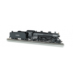 Steam Locomotive HO - USRA Light 4-6-2 Pacific - Atchison Topeka & Santa Fe 1385 - DCC & Sound - Bachmann 52803