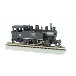 Steam Locomotive HO Porter 0-6-0T Side Tank DCC -- Midwest Quarry & Mining 12 Bachmann 52103