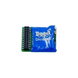 Digitrax DH166MT Control Decoder w/21-pin MTC Interface -- 6 Functions, 1.5-2 Amp Peak