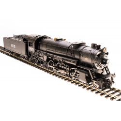 Broadway Limited 5552 Steam Locomotive USRA Heavy Mikado, MP 1460, Paragon3 Sound/DC/DCC, HO