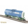 Onega 4-axle tank wagon for gasoline, model 15-1547-0005, HO