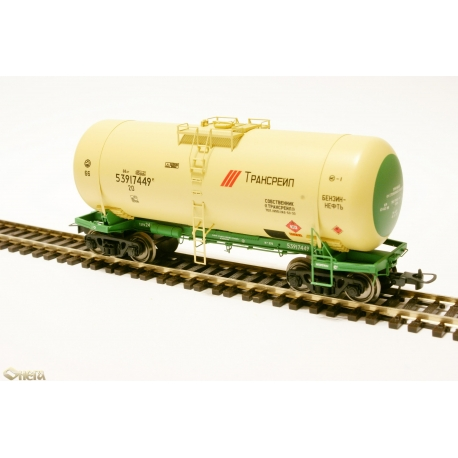 Tank car wagon HO for gasoline Onega 15-1547-0001