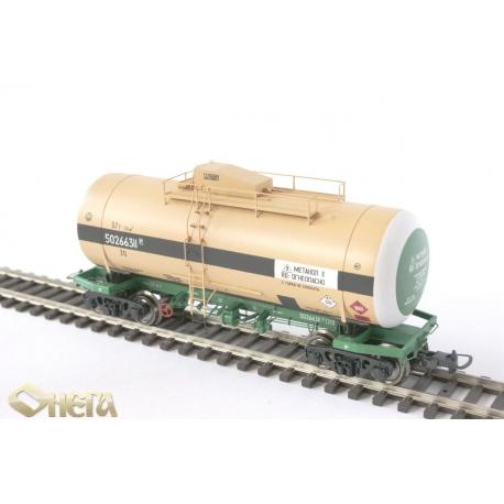 Onega 4-axle tank wagon for methanol, model 15-1621-0001, HO