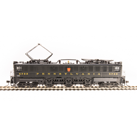 Electric Locomotive HO - PRR P5a Boxcab No 4703 - Freight Type DGLE - Paragon3 Sound DC DCC - Broadway Limited 5934