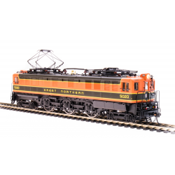 Electric Locomotive HO - P5a Boxca - MILW E42 Maroon & Orange - Paragon3 Sound DC DCC - Broadway Limited 5942