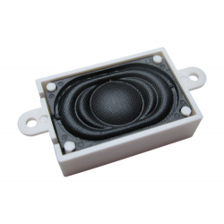 Loudspeaker 16mm x 25mm rectangular 4 Ohms in sound chamber - ESU 50330