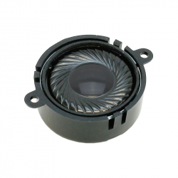 Loudspeaker with sound chamber round - 23mm - 4 Ohms - 1~2W - ESU 50332