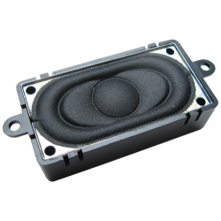 Loudspeaker square with sound chamber - 20mm x 40mm - 4 Ohms - ESU 50334