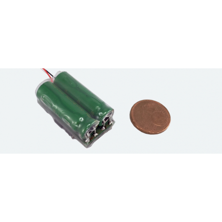 PowerPack Maxi energy buffer for LokSound and LokPilot - 2x5F - 2.7V - ESU 54672