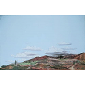 Background Scene - Country to Desert - 24 x 36 in - 60 x 90cm - HO - Instant Horizons - Walthers SceneMaster 949-708