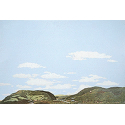 Background Scene - Country to Eastern Foothills - 24x36 in - 60x90cm - HO - Instant Horizons - Walthers SceneMaster 949-714