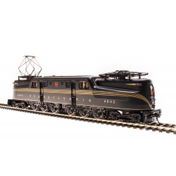 Electric Locomotive - GG1 PRR 4813 DGLE - Paragon3 Sound DC DCC HO - Broadway Limited 4684
