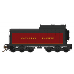 Tender 12,000 Gallon CPR oil-conversion for Royal Hudson Steam Locomotive - DCC ready HO - Rapido 600093