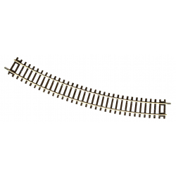 Curved track -- Gebogenes Gleis -- R4 30° HO - Roco 42424