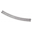 Curved track -- Gebogenes Gleis -- R6 30° HO - Roco 42426