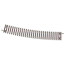 Curved track -- Gebogenes Gleis -- R9 15° HO - Roco 42427