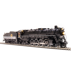 Steam locomotive SP&S E-1 4-8-4 No 700 Modern Excursion - Paragon3 Sound DC DCC Smoke - Brass HO - Broadway Limited 4925