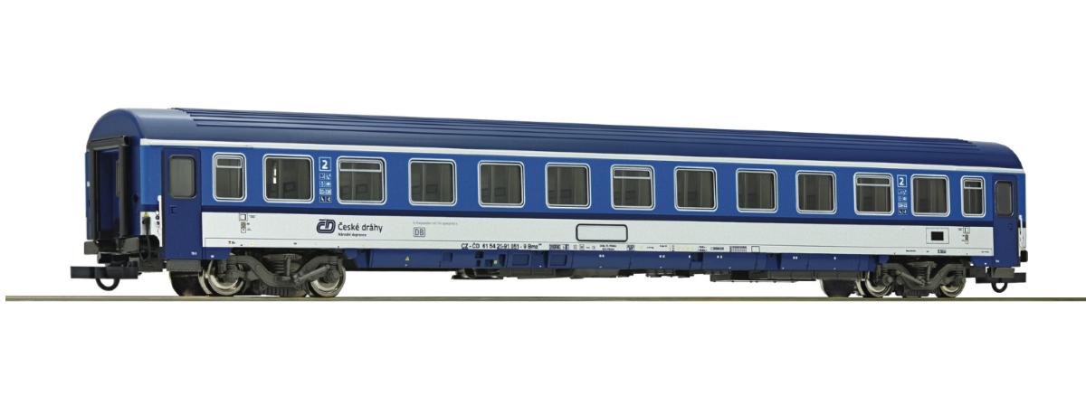 64645 - Roco 2nd class passenger carriage, CD, HO