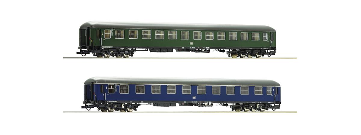 Roco 74113 2 piece set: Fast train coaches, Museum Darmstadt-Kranichstein, HO
