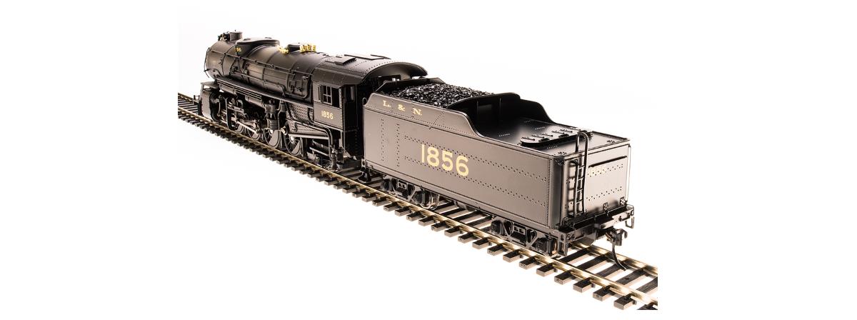 Broadway Limited 5548 USRA Heavy Mikado, L&N 1860, Paragon3 Sound/DC/DCC, HO