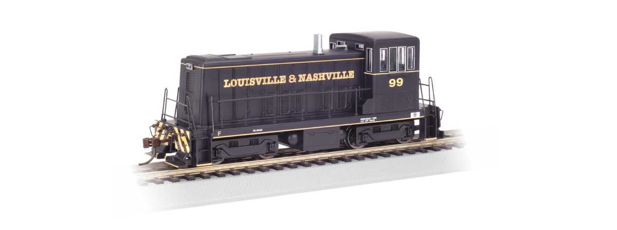 Bachmann 60604 GE 70-Tonner - DCC -- Louisville & Nashville #99 (black), HO