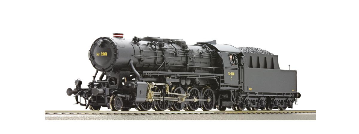 Roco 72145 - Steam locomotive Litra N, DSB, HO