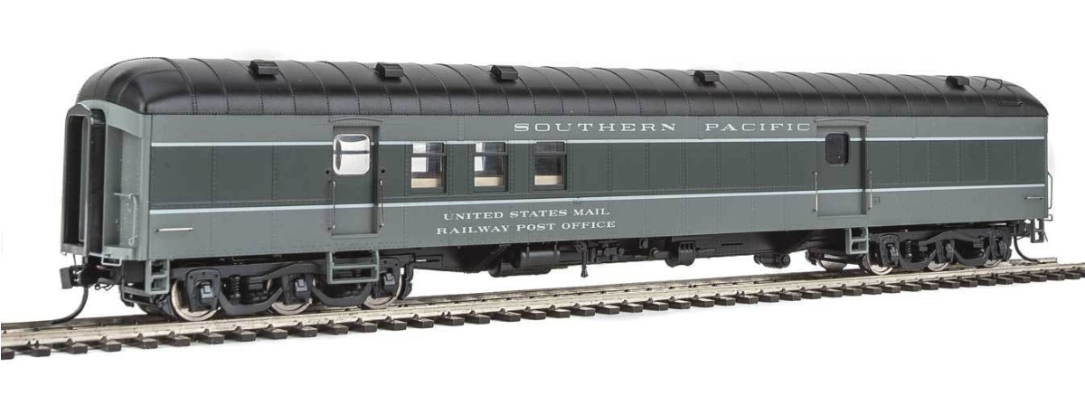 Walthers 920-17408 70' Heavyweight Railway Post Office - Baggage Car - Ready to Run -- Southern Pacific(TM), HO
