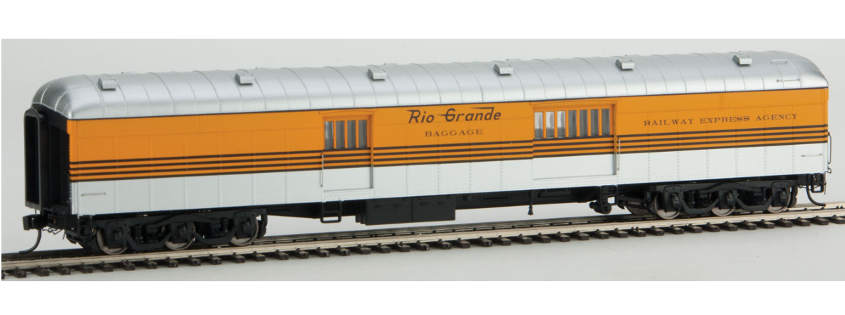 WalthersProto 920-17361 70' ACF Arched-Roof Baggage Car, HO