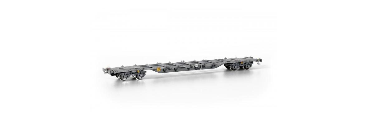 Sudexpressmodells SURM02617 Renfe Sgnss intermodal container wagon, HO