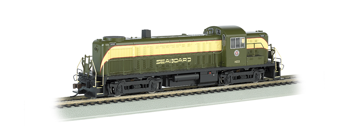 Bachmann 63907 Alco RS3 - Sound & DCC -- Seaboard Air Line #1633 (green, yellow)